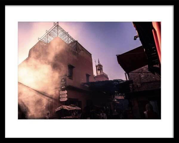 Marrakech Souk Szene Fineart Photography Prints Martin Frick