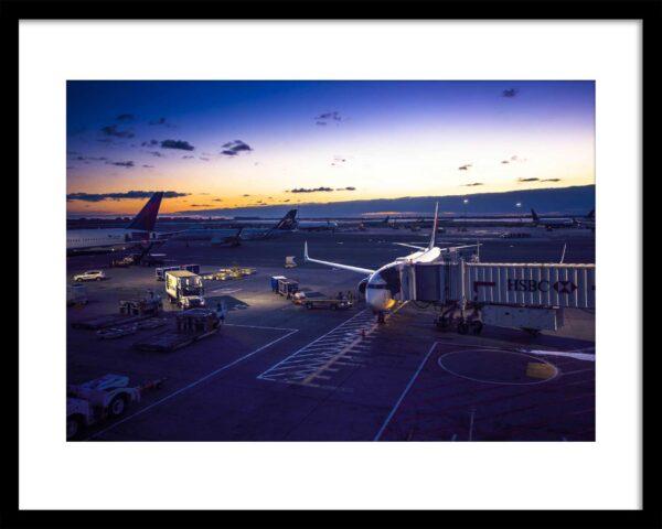Martin Frick Fineart People of New York JFK Airport