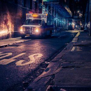 Martin Frick Fineart New York Chinatown by night