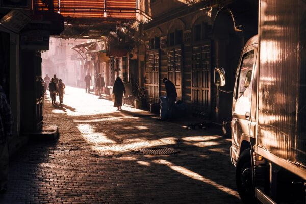 Martin Frick Fineart Medina Morning Light Marrakesch
